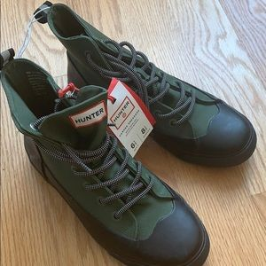 Hunter unisex canvas sneakers